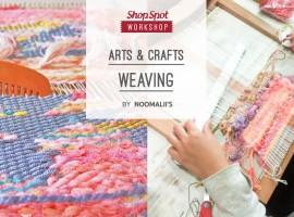 ShopSpot Workshop : Arts and Crafts Weaving ออกแบบลายผ้าด้วยกี่ทอมือ – 15/10/2016