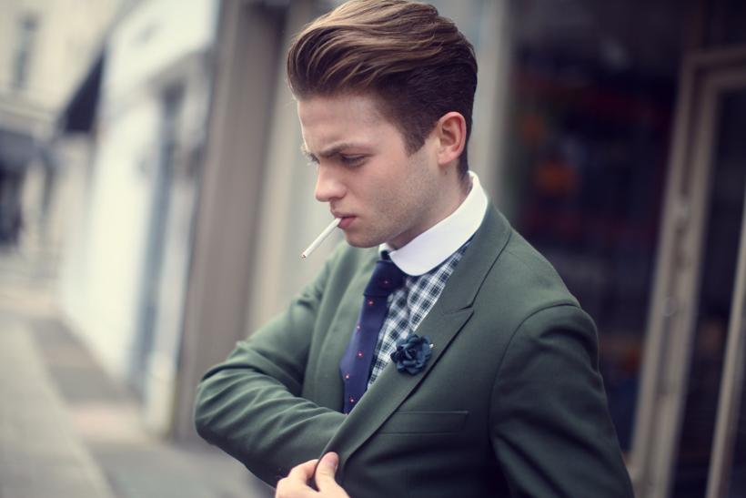 man-of-a-kind-smoking-club-collar-green-jacket