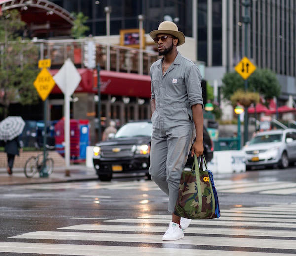 EXCLUSIVE New York Fashion Week S/S 2016 - Street Style Featuring: Member of Public Where: New York City, New York, United States When: 11 Sep 2015 Credit: The Styleograph/WENN.com
