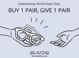 "GLAZZIQ ร้านแว่นคุณภาพเยี่ยมเสนอแคมเปญสุดพิเศษต้อนรับ""วันสายตาโลก"""