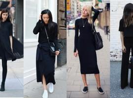 รวม 30 ลุค 10 เทคนิค กับการแต่งชุดดำให้สุภาพ ใส่ได้ทุกวันในชีวิตประจำวัน (ความรู้ช้อปปิ้ง #65)