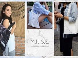 M.U.S.E. กระเป๋าผ้าลวดลายมีเสน่ห์ และความงามจากธรรมชาติ (ร้านค้าแนะนำ #86)