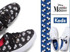 Keds X Minnie Mouse Collection รองเท้าผ้าใบลายน้องมินนี่ อย่างนี้ต้องจัด!!!