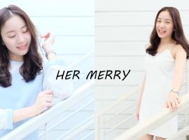 Her Merry Brand เสื้อผ้าดีไซน์เรียบหรู และสไตล์ที่เป็นเอกลักษณ์ (ร้านค้าแนะนำ #100)
