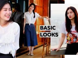 How To Basic Looks แต่ง ชุดทำงาน แบบเบสิคในโทนสีขาว-ดำ (ShopSpot Blogger#40)