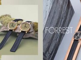 FORREST นาฬิกาสุดมินิมอล มีสไตล์ด้วยวัสดุที่มาจากธรรมชาติ (ร้านค้าแนะนำ #99)