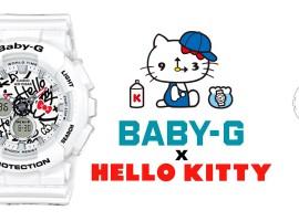 Casio เอาใจแฟนคลับคิตตี้ปล่อยคอลเลคชั่นสุดน่ารัก Baby-G x Hello Kitty ธันวาคมนี้!