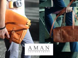 Aman กระเป๋าหนังแท้สุดเท่จากช่างเครื่องหนังผู้มีประสบการณ์ (ร้านค้าแนะนำ #101)