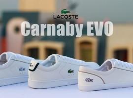 LACOSTE Carnaby EVO รองเท้าเทนนิสระดับตำนาน ที่กลับมาพร้อมความเท่ในซีซั่น Autumn/Winter 2016