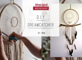 ShopSpot Workshop : D.I.Y Dream catcher ตาข่ายดักฝันทำมือ (28/01/2017)