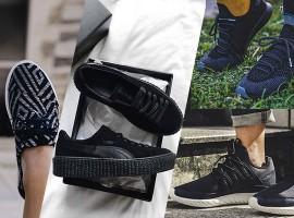 Unisex Sneaker สีดำ หลากสไตล์ ที่พร้อมตอบโจทย์ทุกสถานการณ์ (สไตล์ #297)