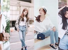 4 เน็ตไอดอล สัญชาติไทยแต่ Korean Girl Style จาก Instagram (สไตล์ #307)