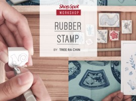 ShopSpot Workshop : แกะยางลบตัวปั๊ม Rubber Stamp by Treerachin (12/03/2017)
