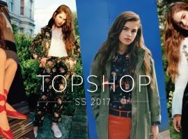 TOPSHOP เปิดตัว Lily Jean Harvey นางแบบประจำแคมเปญฤดูใบไม้ผลิ/ฤดูร้อน 2017