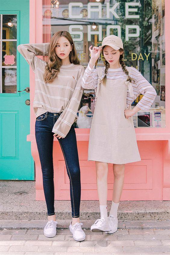 Korean twin style