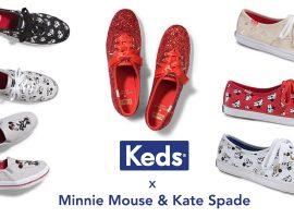 Keds แจกความสดใสกับรองเท้าผ้าใบรุ่นพิเศษ Minnie Mouse & Kate Spade