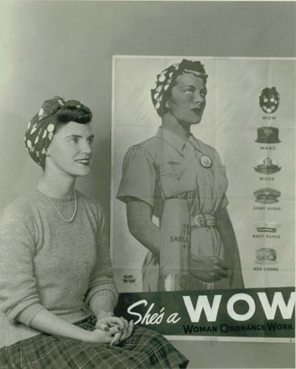 Rita Murphy w/ WOW Poster.