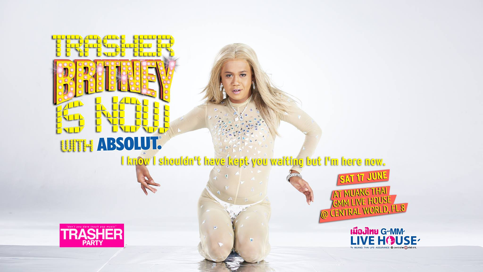 Trasher Britney Is Now with ABSOLUT