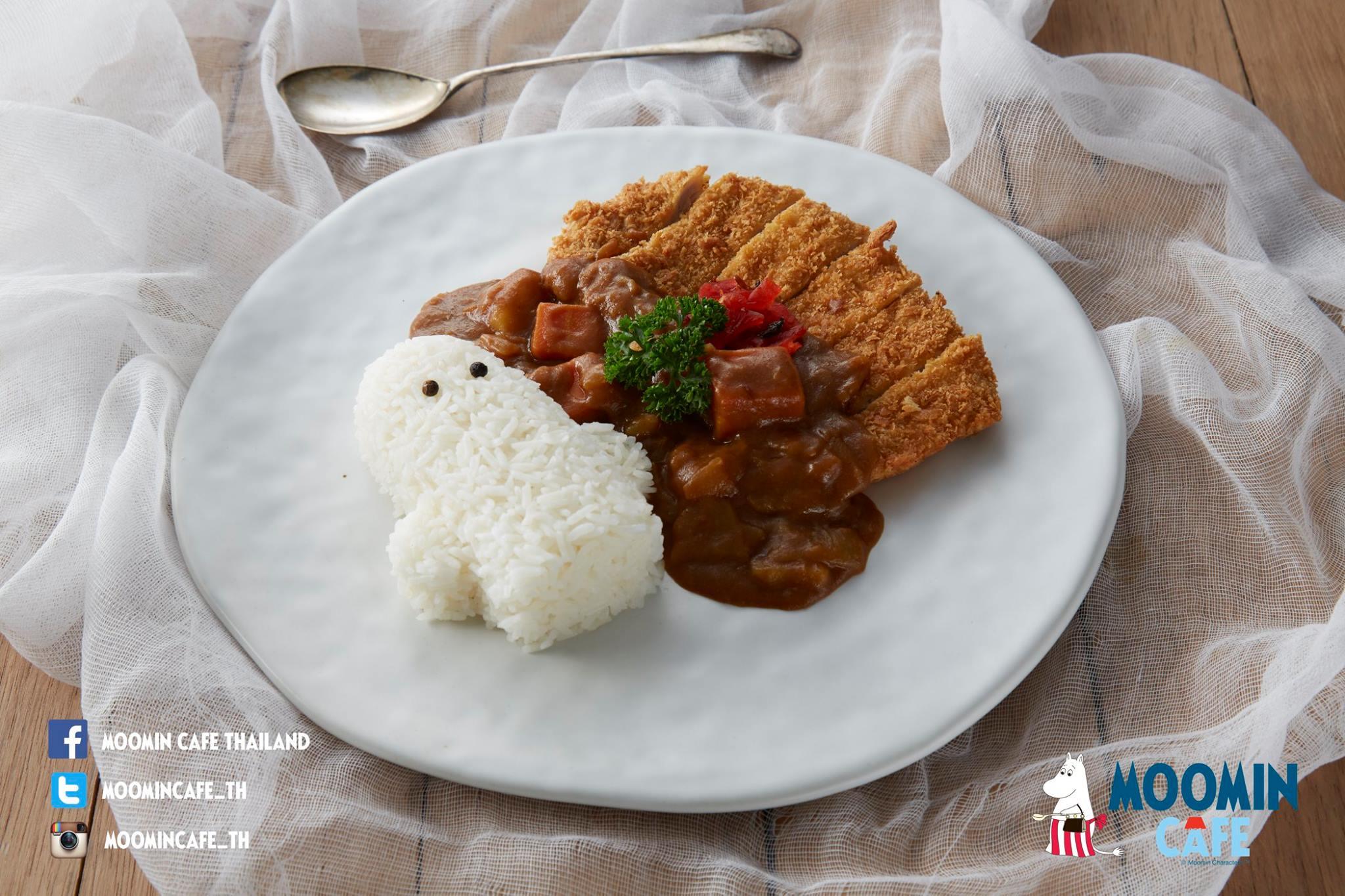FB : Moomin Cafe Thailand