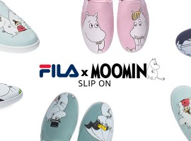 FILA x MOOMIN 2017 มูมินกลับมาให้หายคิดถึงแล้วจ้า กับรองเท้า Slip-on 4 สีใหม่!