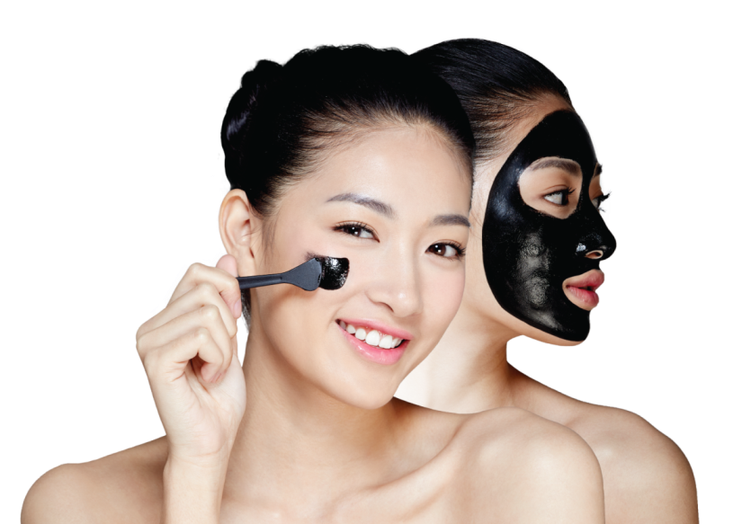 Clear Nose Intensive Facial Black Mask + Rose Water (3)