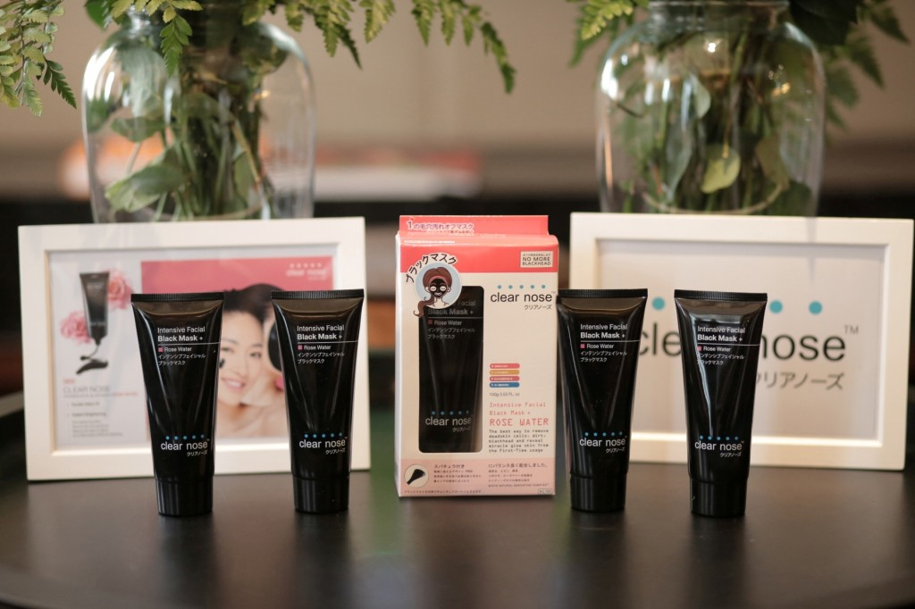 Clear Nose Intensive Facial Black Mask + Rose Water (4)