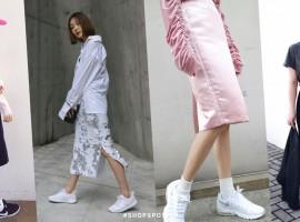 Sneakers x Pencil Skirt เติมความสนุกสไตล์วิถีแฟชั่นนิสต้าด้วยไอเท็มกระโปรง