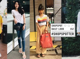 อินเทรนด์กับลุคสุดชิคของ 10 ShopSpotter ประจำเดือนสิงหาคม (ShopSpotter #41)