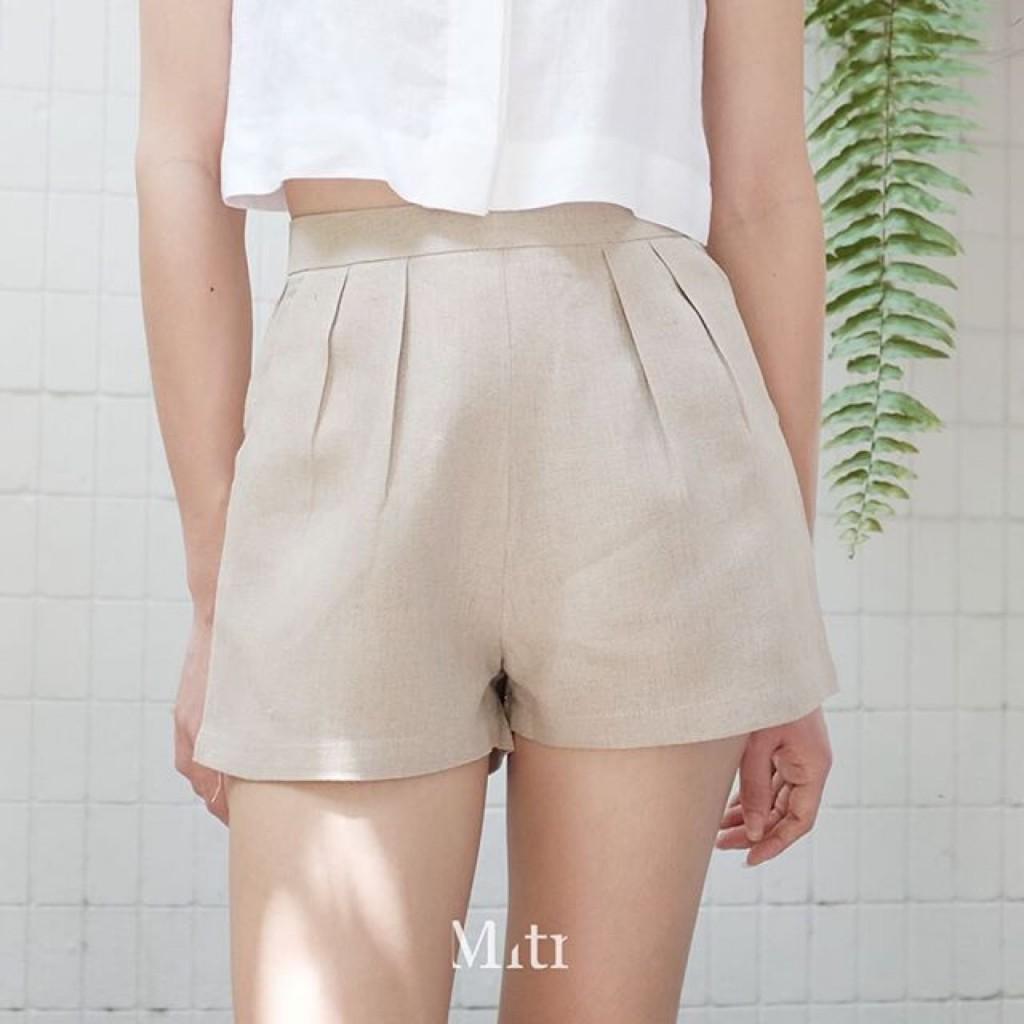 กางเกงผ้าลินิน