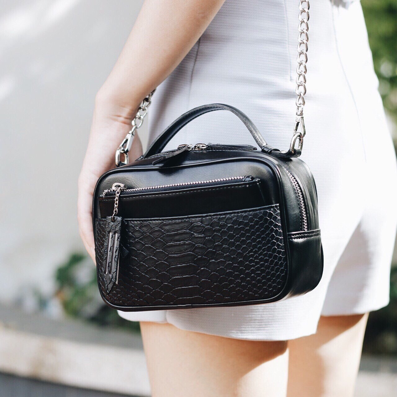 [ Kanga (Classic Black) - 1,690 THB ] ร้าน Magraret Bag