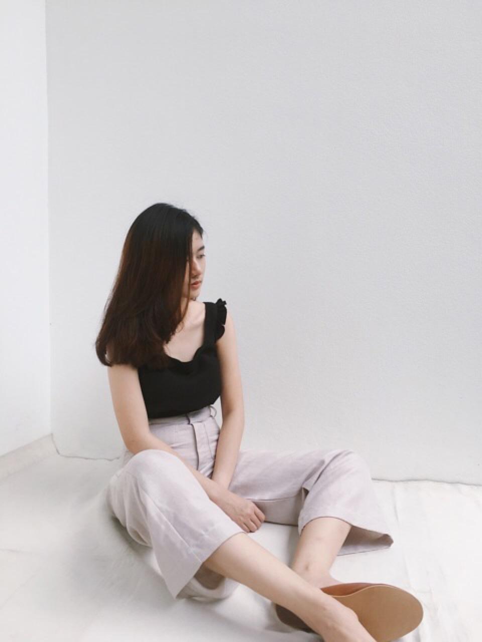 กางเกงขายาว Wide Leg Trousers - 990 THB