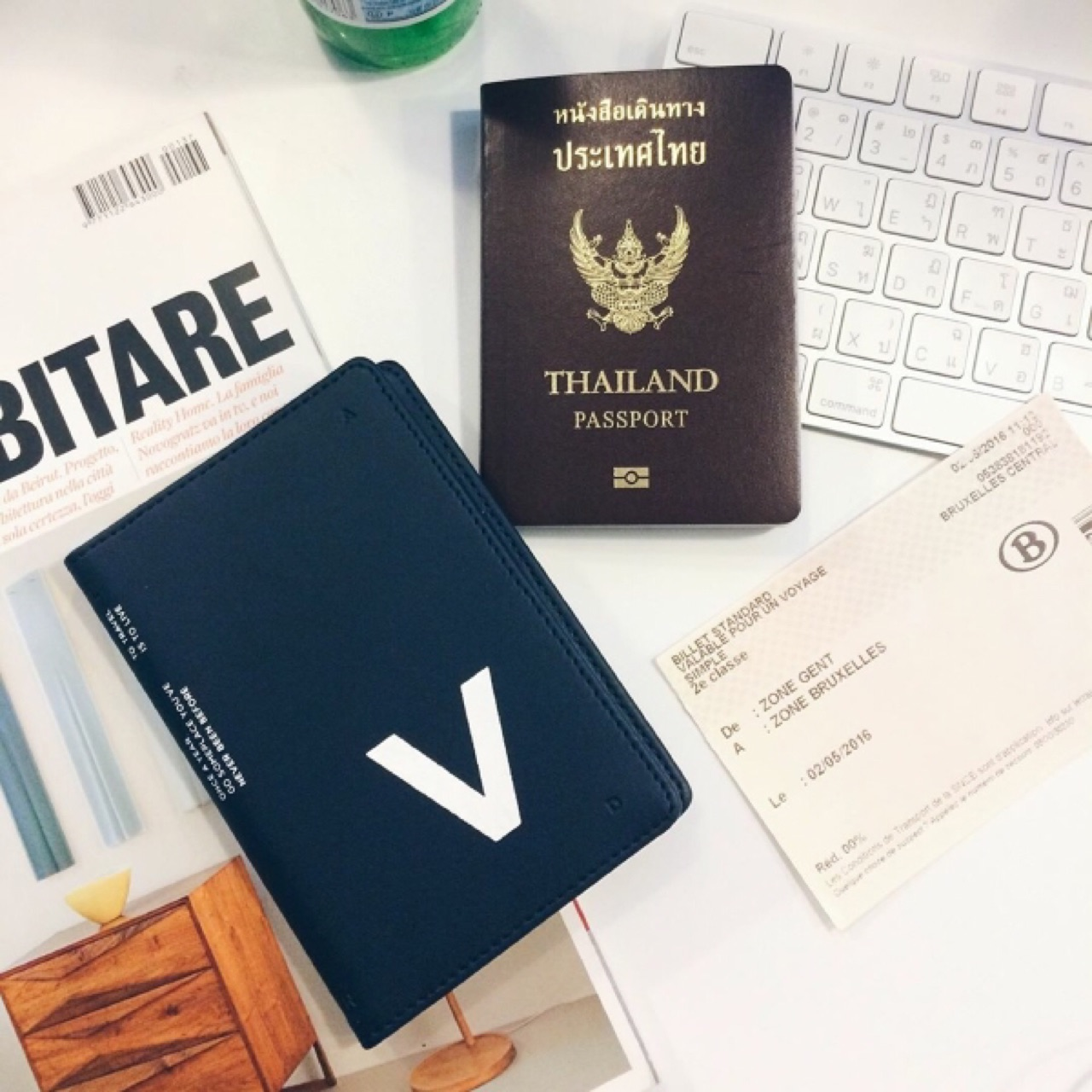 Letter Passport - 750 THB