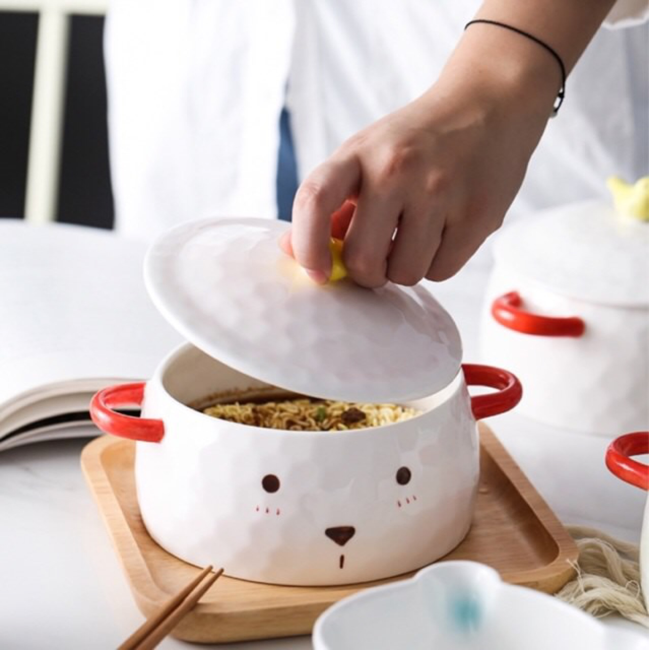 [ ถ้วย Cute Bear Bowl - 590 THB ]