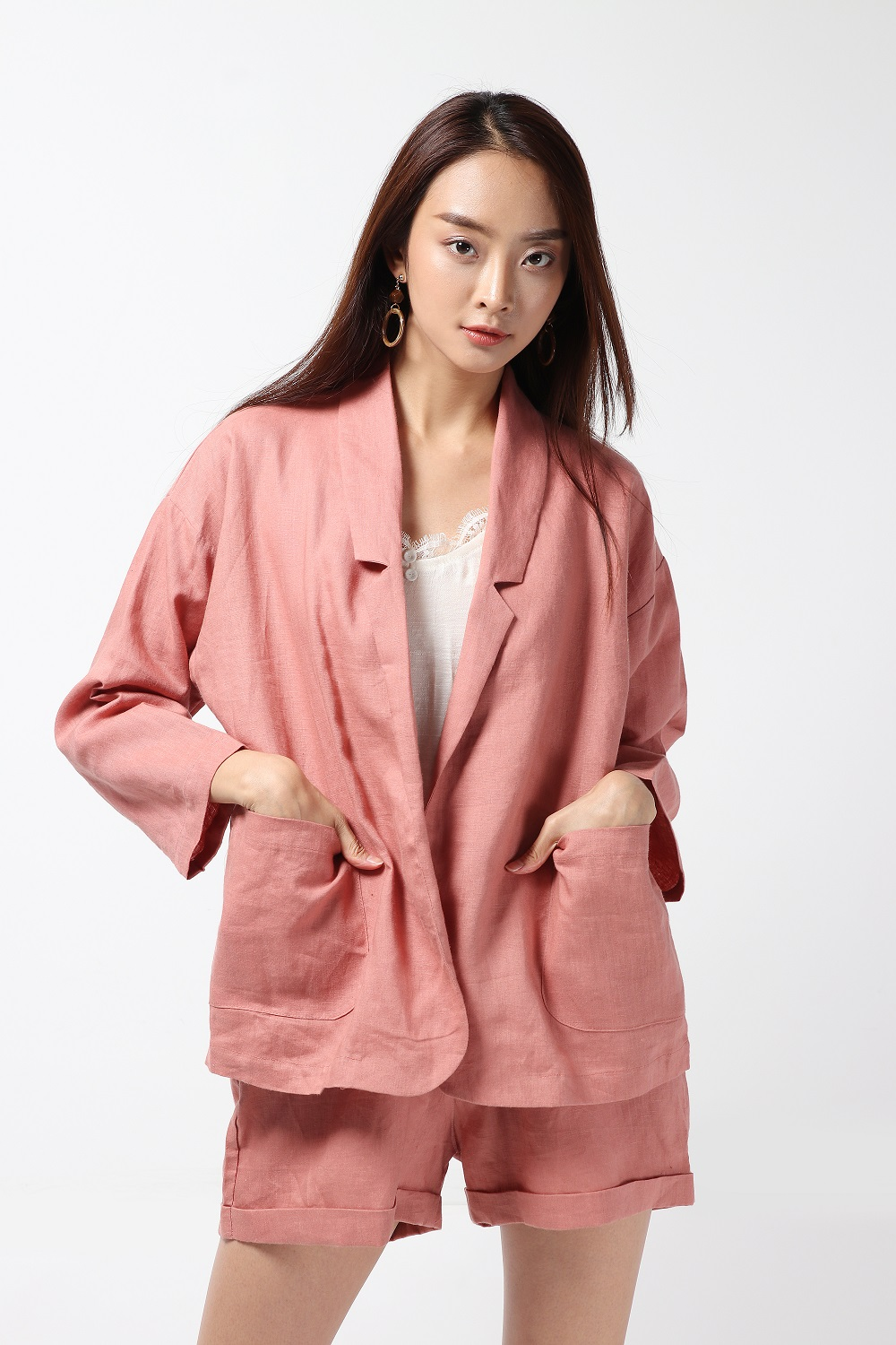 [ Pinky suit set - 1,190 THB ]