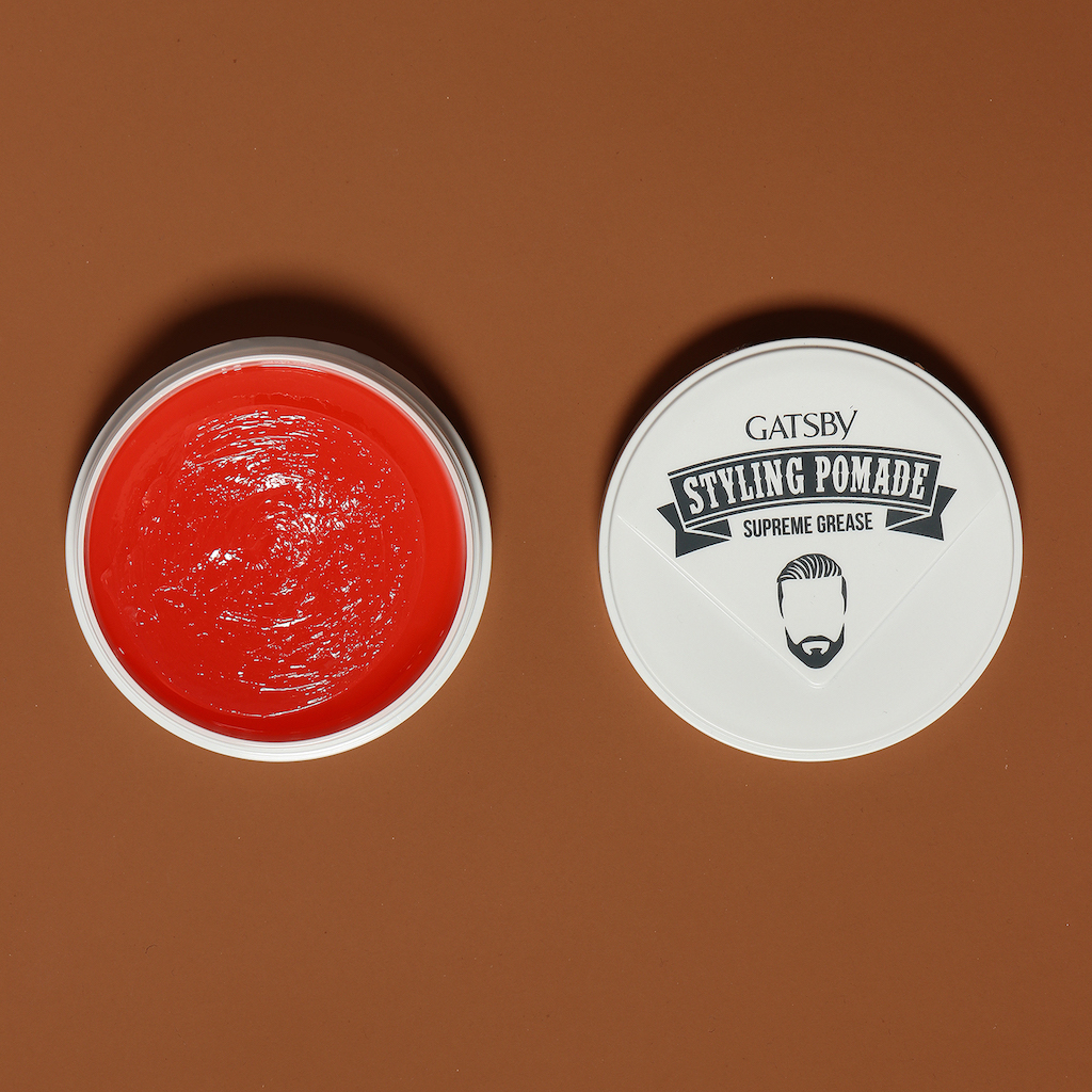 How To 2 70s Pomade Gatsby Pompadour Style Styling Supreme Hold 1 Step