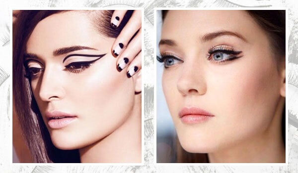 3 ways to wear graphic eye makeup