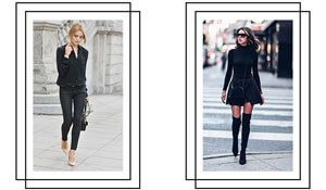 4 all-black outfits for every type of girl