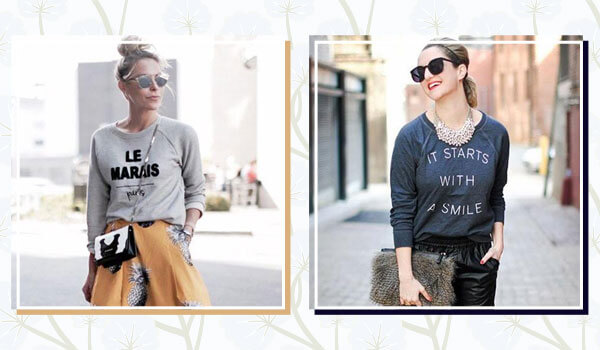 5 ways to style a sweatshirt  this winter