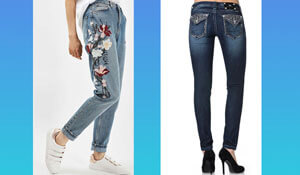 6 ways to jazz up your jeans