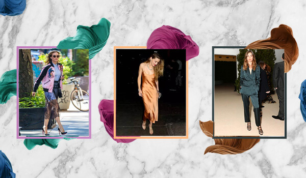 6 ways to wear satin for the party season