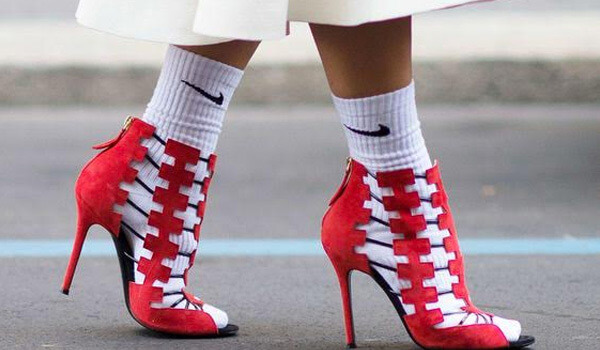 6 ways to wear socks with shoes without looking like a schoolgirl