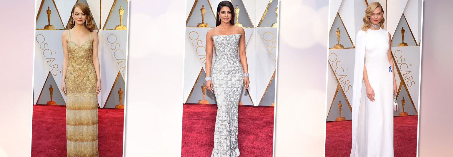 8 BEST DRESSED CELEBRITIES AT THE OSCARS 2017 RED CARPET