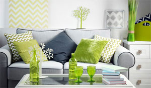 How to add Pantone's 'Greenery' to your home