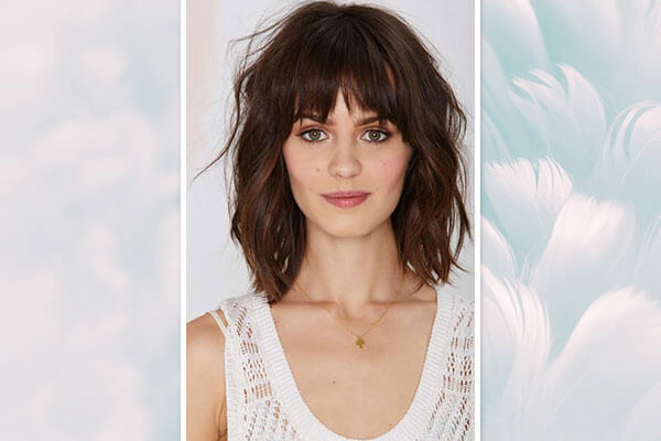 asymmetrical bangs hairstyles