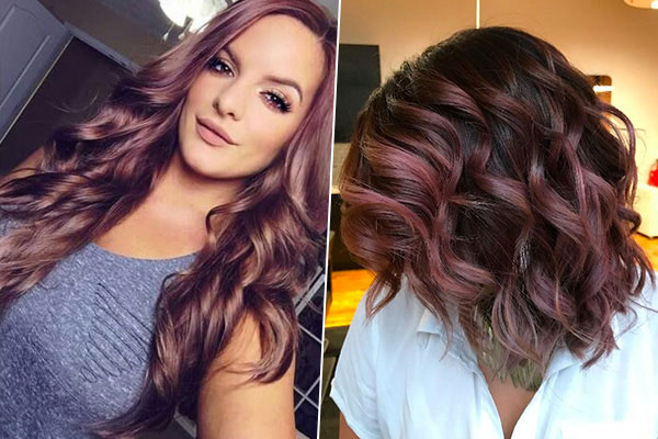 about chocolate mauve hair that s  pletely changing the hair