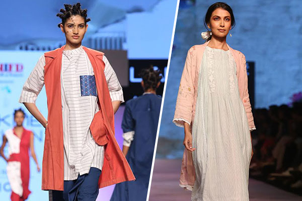 duster coats fashion trend at lakmé fashion week 2017