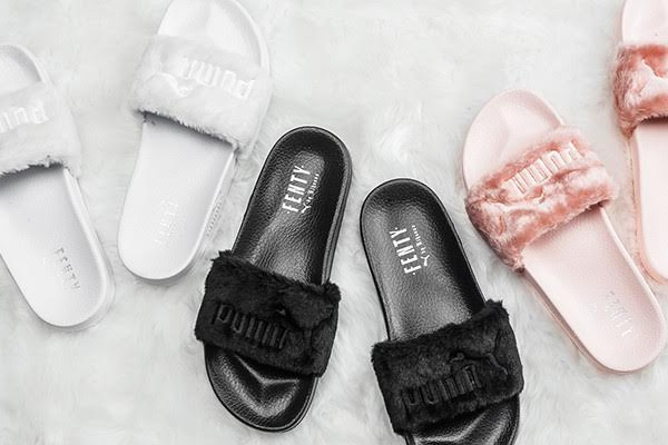 faux fur slides new silhouette collection