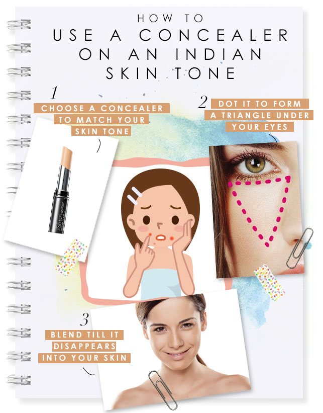 How to use a concealer on an Indian skin tone | BeBEAUTIFUL