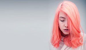 BB Trend Alert—Neon peach hair colour