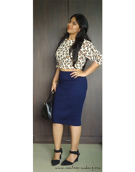 Navy blue pencil skirt outfit – Modern skirts blog for you